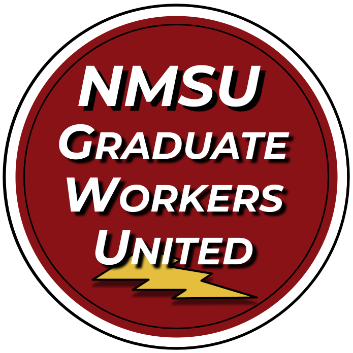 NMSU Graduate Workers United Logo